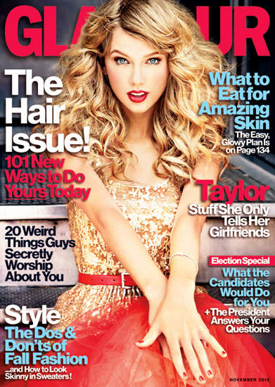Taylor Swift Sports Opposite Looks For 'Glamour' And 'Marie Claire' UK Covers
